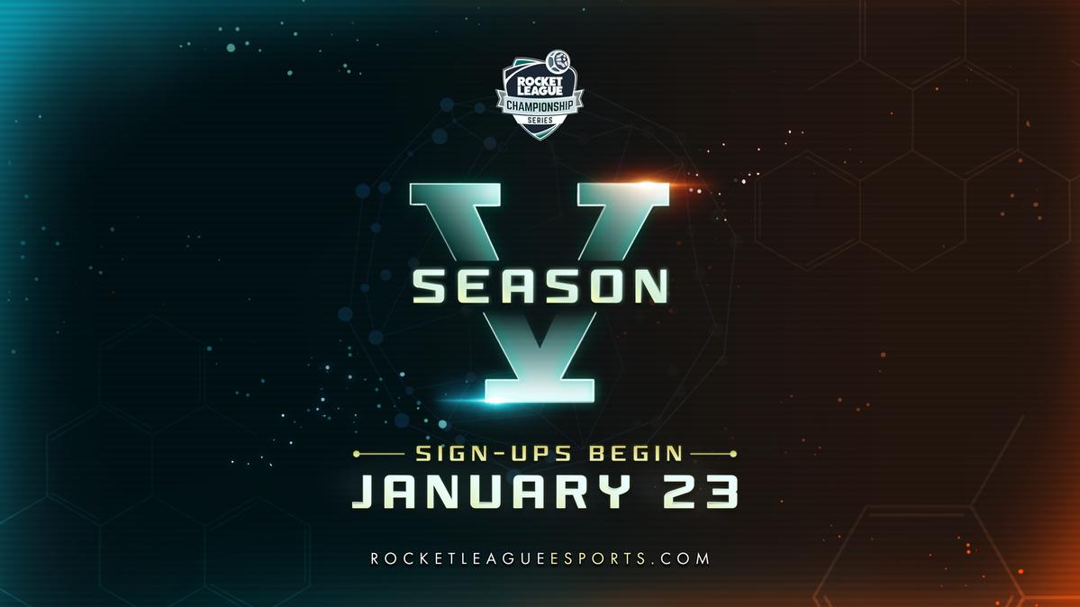 Introducing RLCS Season 5 + the brand new RL Esports website!