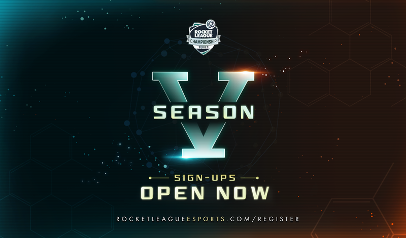 RLCS Season 5 Sign-Ups Open Now article image