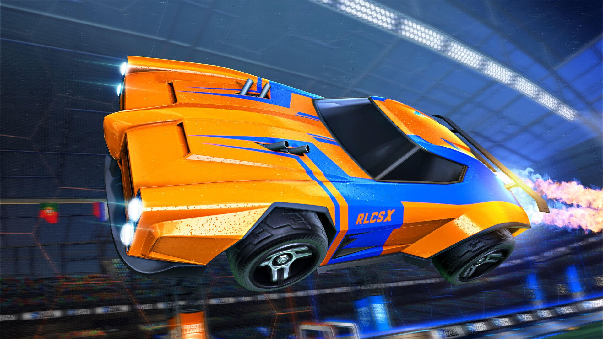 RLCS X Decal (Dominus)